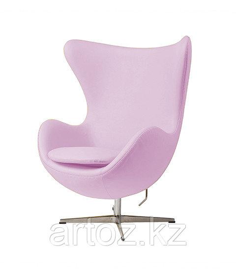 Кресло Egg Chair leatherette (pink)