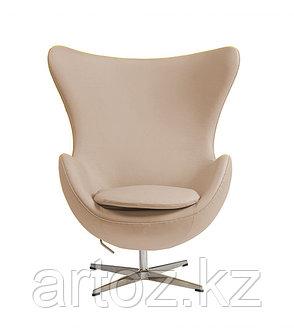 Кресло Egg Chair leather (beige), фото 2