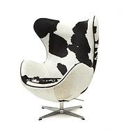Кресло Egg chair Cow (White/Black)