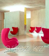 Кресло Egg Chair velvet (red), фото 2