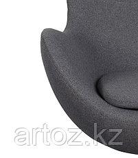 Кресло Egg Chair cashemere (gray), фото 3