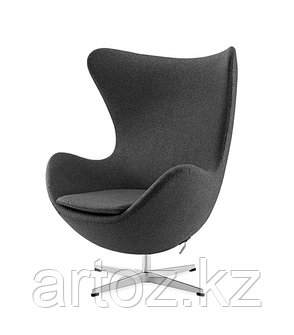 Кресло Egg Chair cashemere (gray), фото 2