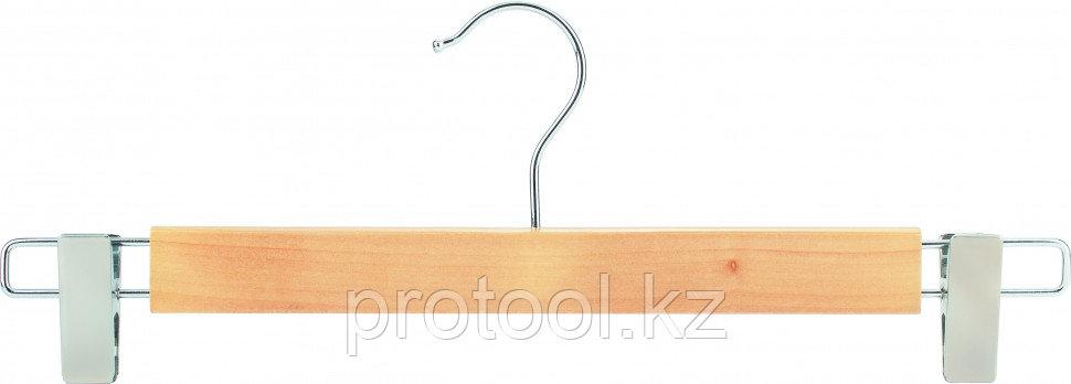 Вешалка деревянная - зажим //ТМ Elfe