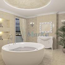 Акриловая круглая ванна Омега 180x180 см., фото 2