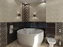 Акриловая круглая ванна Омега 180x180 см., фото 3