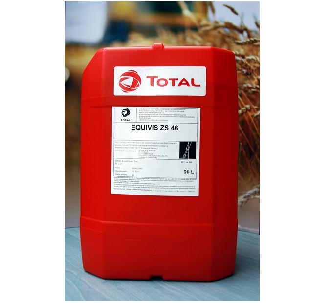 TOTAL EQUIVIS ZS-46 Гидравлическое масло с высоким индексом вязкости 20л.
