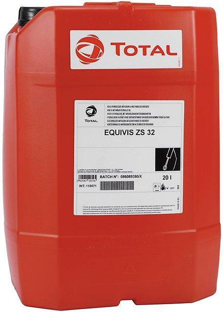 TOTAL EQUIVIS ZS-32 Гидравлическое масло с высоким индексом вязкости 20л.