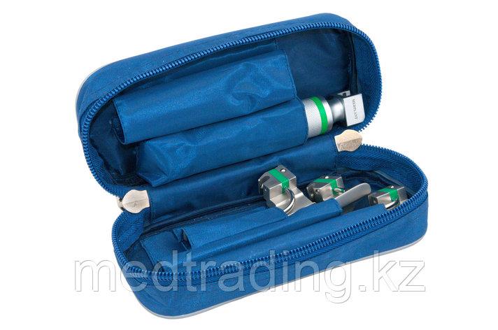 Ларингоскопы для экстренной медицины серии ЛЭМ-02/В волоконно-оптические взрослые (рукоять+3 клинка), фото 2