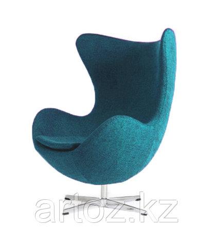 Кресло Egg Chair cashemere (turquoise), фото 2