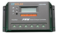 Контроллер заряда ViewStar PWM 20 А, 12/24 В, производства Beijing Epsolar Technology