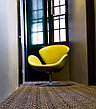 Кресло Swan chair velvet (red), фото 2