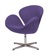 Кресло Swan chair cashemere (violet)
