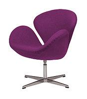 Кресло Swan chair cashemere (magenta)