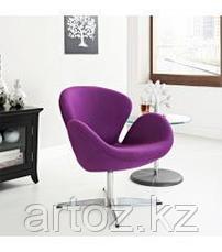 Кресло Swan chair cashemere (magenta), фото 3