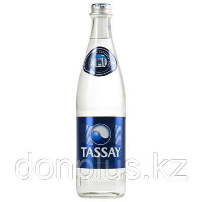 Вода Tassay с газом 0,5 л (стекло)