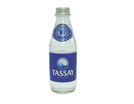 Вода Tassay с газом 0,25 л (стекло)