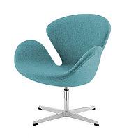 Кресло Swan chair cashemere (turquoise)