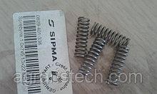 Пружина зуба трещотки обгонной муфты вала шлицевого на пресс-подборщик Sipma Z-224 0829-401-336, PN-76/M-86701