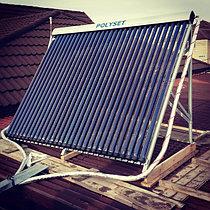 Солнечная водонагревательная станция, совмещенная с тепловым насосом в г. Астана 1