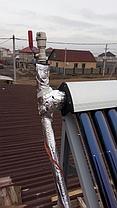 Солнечная водонагревательная станция, совмещенная с тепловым насосом в г. Астана 4