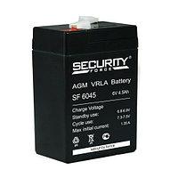 Батарея аккумуляторная 4.5А.ч 6В Security Force SF 6045