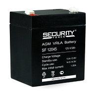 Батарея аккумуляторная 12В 4.5А.ч Security Force SF 12045