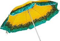 Зонт пляжный  диаметр 2 м, мод.600A (пальмы)