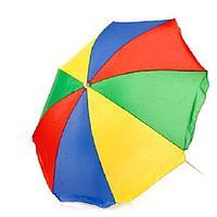 Зонт пляжный диаметр 1,5 м, мод.602С (радуга), фото 1