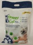 Happy Cat 3,8л (1,7кг) без аромата Силикагелевый наполнитель
