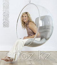 Кресло Bubble chair hanging (red), фото 3