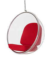 Кресло Bubble chair hanging (red)