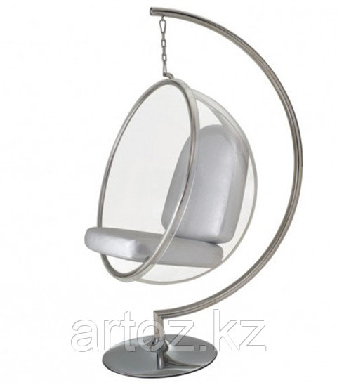 Кресло Bubble chair floor (silver)