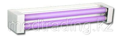 Облучатель бактерицидный с лампами низкого давления настенно-потолочный ОБНП 2*15-01  Генерис, фото 2
