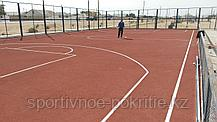Монтаж спортивного покрытия, фото 3