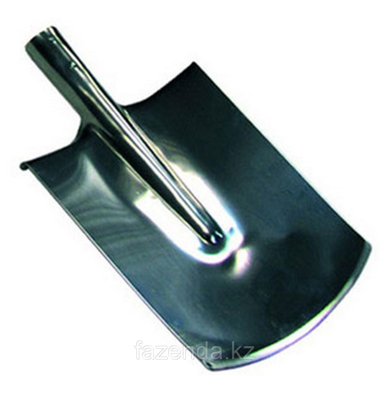 Лопата штыковая, прямоугольная из нержавейки