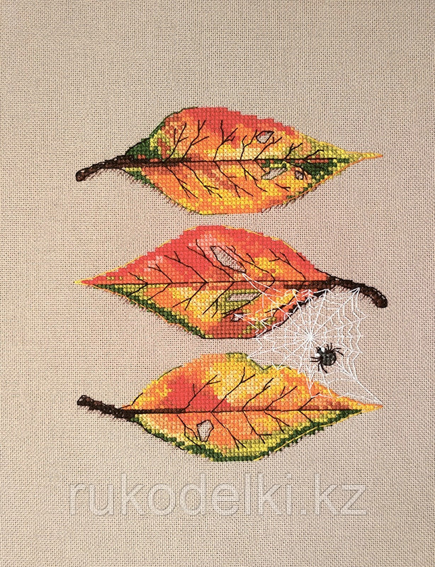 """Набор для вышивания крестом """"Осенние листья"""""""