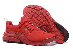 Летние кроссовки Nike Air Presto красные