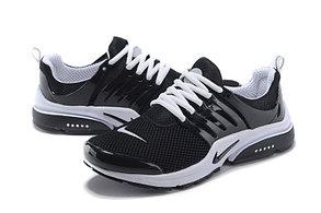 Летние кроссовки Nike Air Presto черно-белые, фото 3