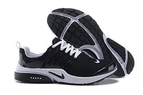 Летние кроссовки Nike Air Presto черно-белые, фото 2