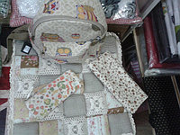 Текстиль; косметички, сумочки,...