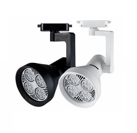 Трековый светодиодный светильник LD-35W (на шинопроводе) LED PAR30(в комплекте), белый, черный