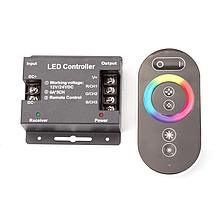 Контроллер RGB (сенсорный Радио ДПУ) 216W(18A),12V