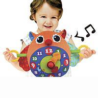 """Обучающая игрушка """"Часы-Сова"""" (K*s Kids, Китай)"""