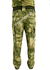 Брюки камуфлированные, зеленый АТАК