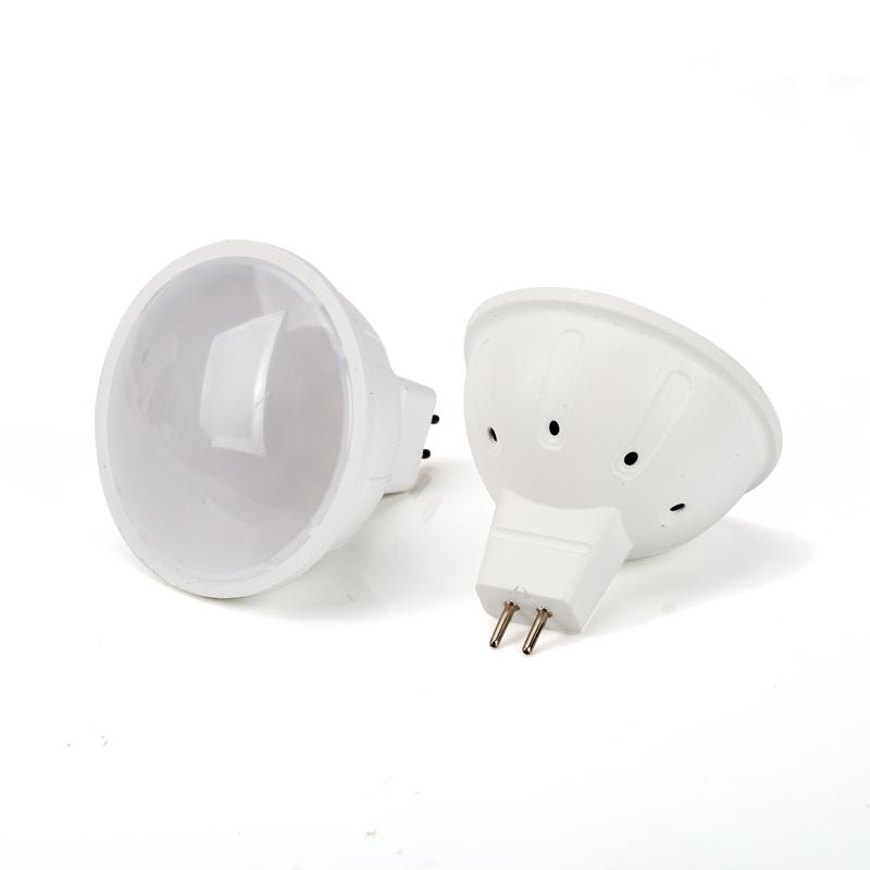Светодиодная лампа MR16(GU5.3) 5W 220V матовая