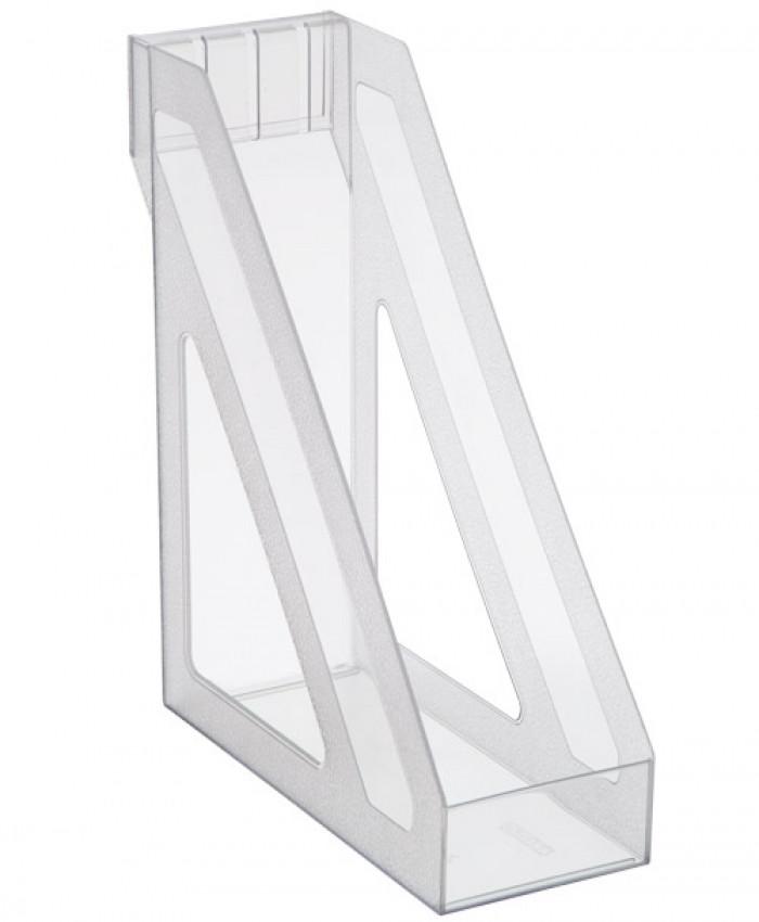 Лоток вертикальный БАЗИС прозрачный (СТАММ ЛТ34)