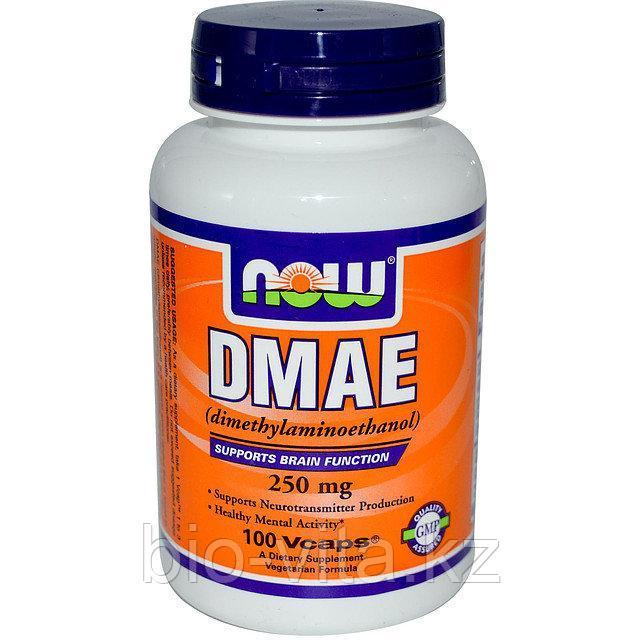 ДМАЭ DMAE Диметиламиноэтанол 250 мг. 100 капсул.