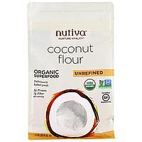 Кокосовая мука 454 гр. Nutiva