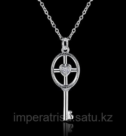 Серебряный кулон ключ в стиле Tiffany & Co. 5