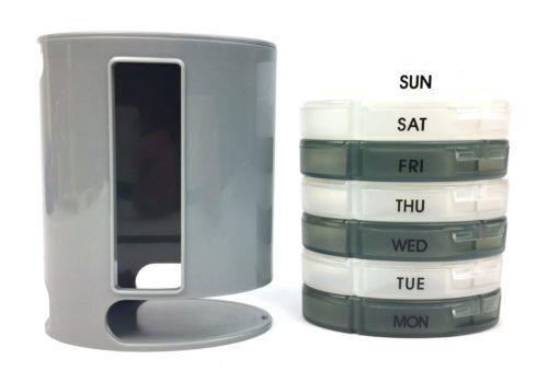 Органайзер для витаминов и таблеток из семи ячеек Pill pro, фото 2